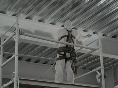 Steel Coating Fire Protection